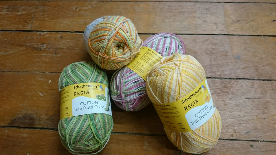 Cotton Tutti Frutti Sock Yarn